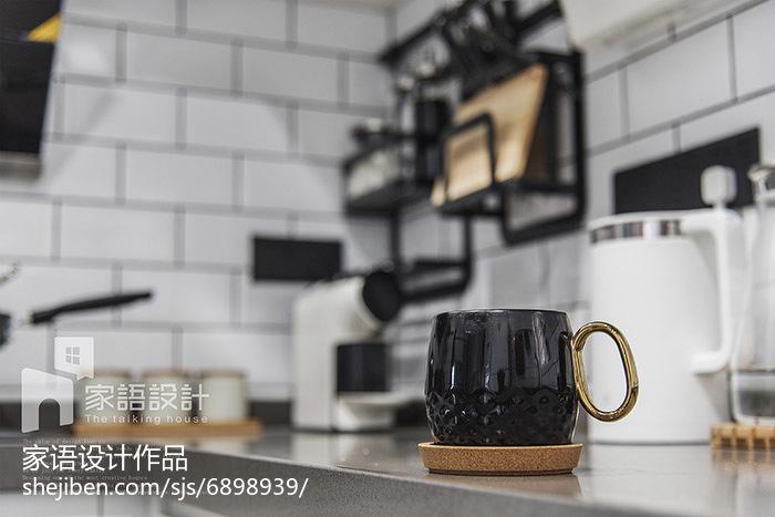 103平米三居厨房北欧装修设计效果图片大全