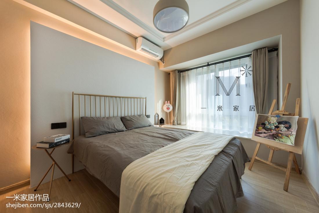 温馨51平现代二居卧室设计案例