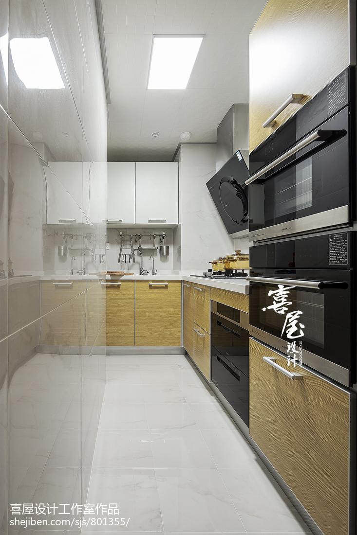 精美北欧小户型厨房装修设计效果图