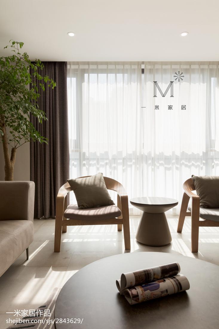 精选77平米二居客厅现代设计效果图