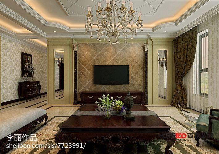 新中式卧室装饰图