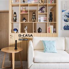 2018日式二居客厅装修实景图片