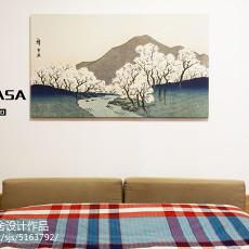 热门82平米二居卧室日式效果图片大全