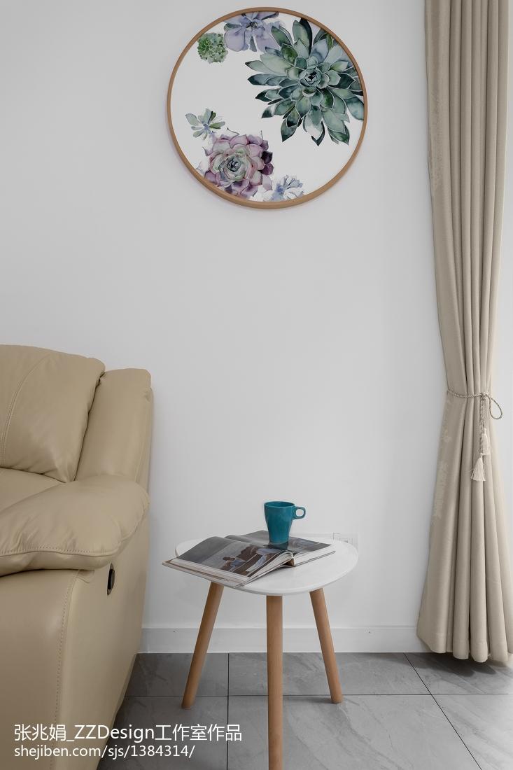 精美97平米三居客厅北欧装修欣赏图片大全