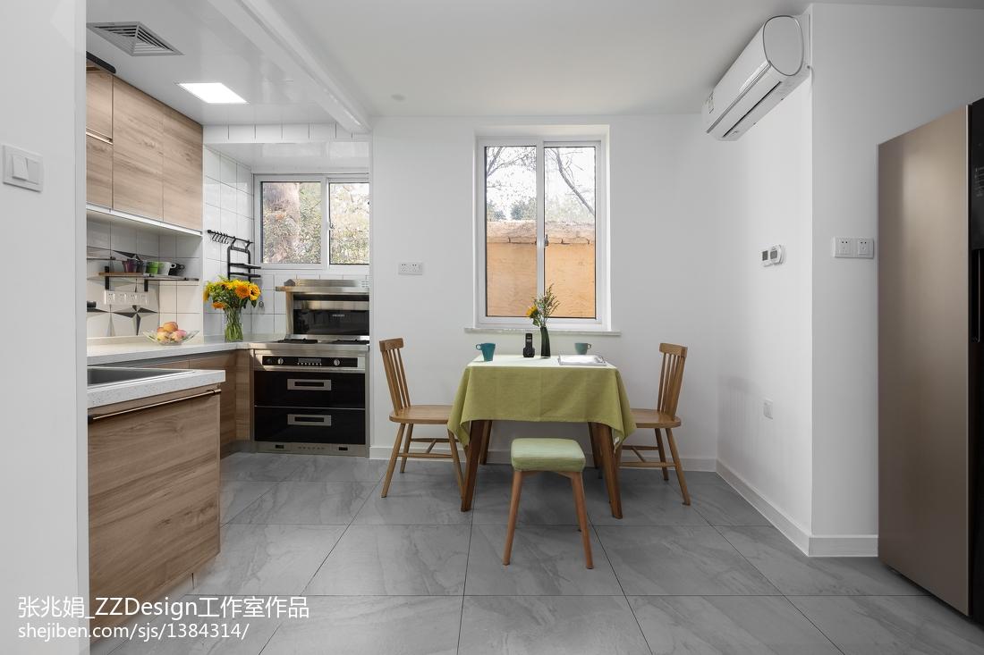 2018精选面积97平北欧三居餐厅装修效果图片欣赏