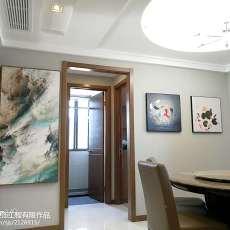 精美95平方三居餐厅现代实景图片欣赏