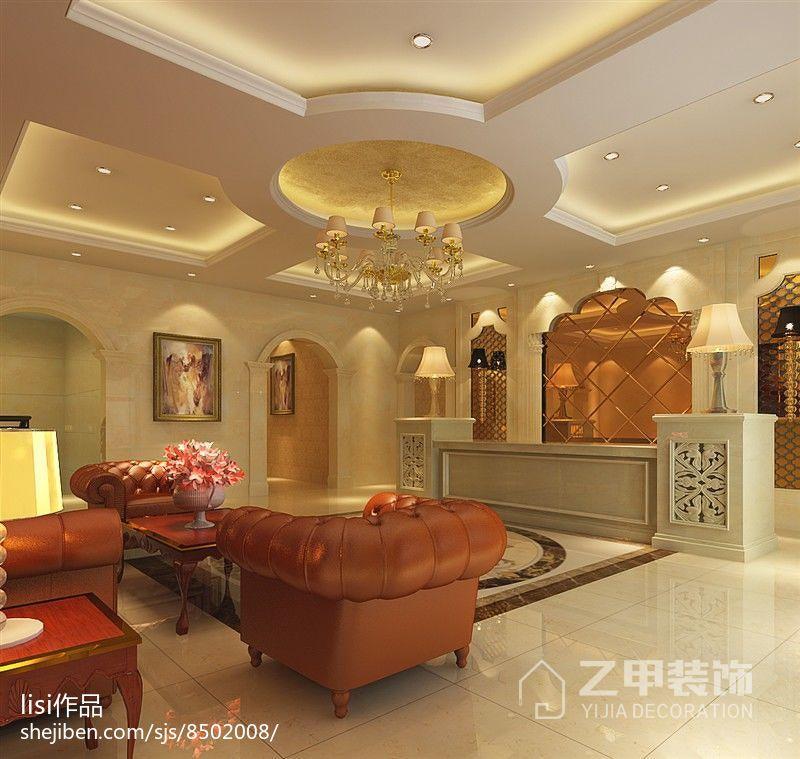 简欧风格三居室装饰设计效果图片