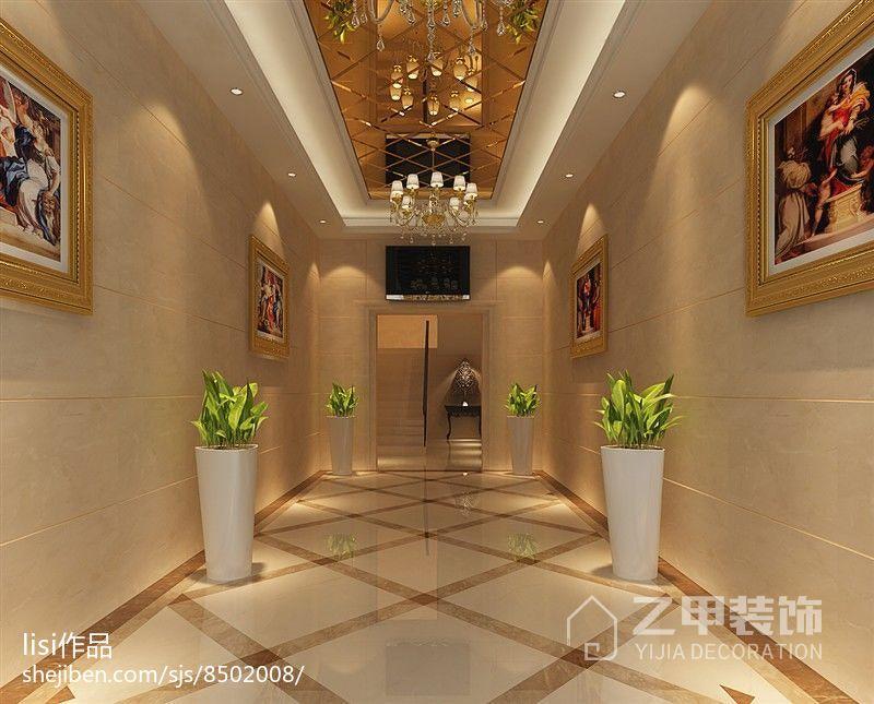 简欧风格室内卫生间装饰设计效果图片