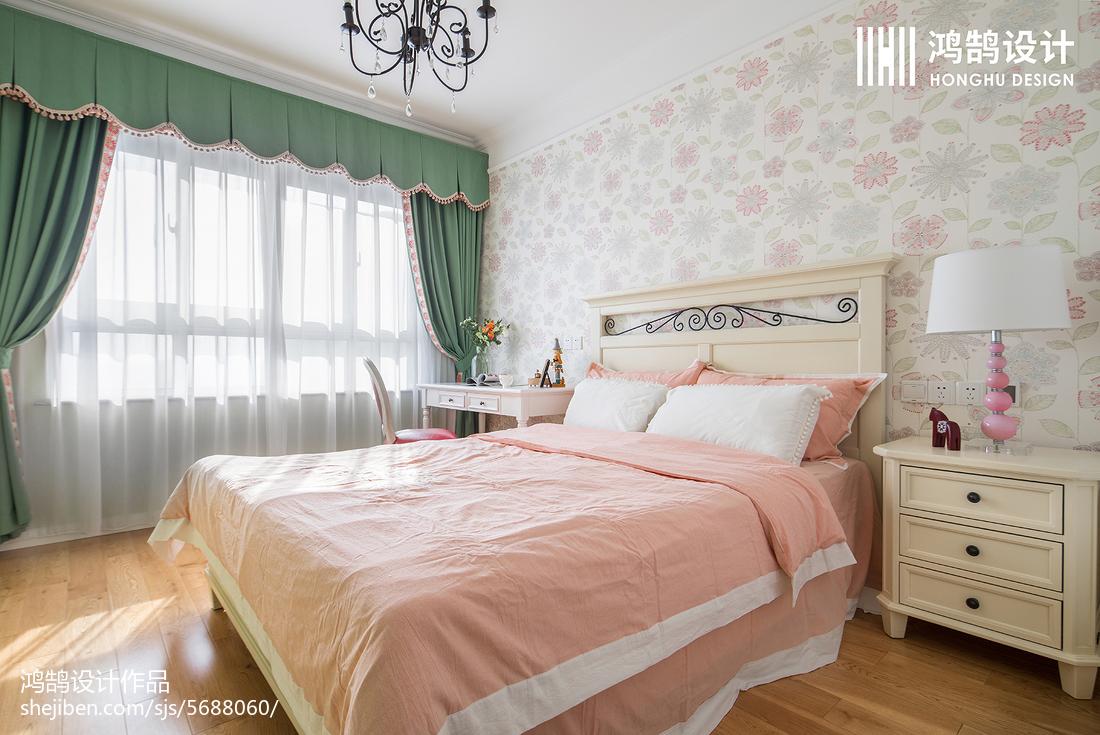 熱門109平米三居兒童房美式效果圖片大全