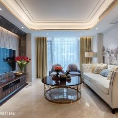 热门117平米四居客厅现代装修效果图片欣赏