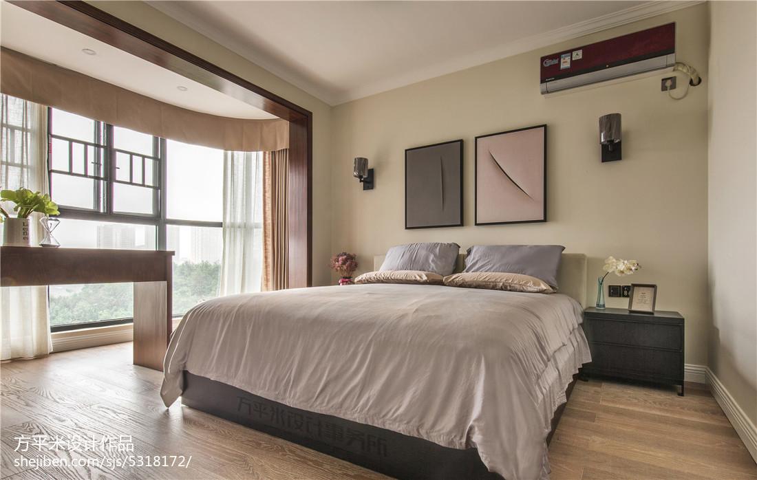 热门大小101平现代三居卧室装饰图片欣赏