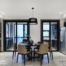精美116平米四居餐厅现代装修实景图片欣赏