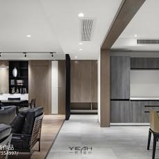 2018精选面积115平现代四居客厅装修实景图片欣赏