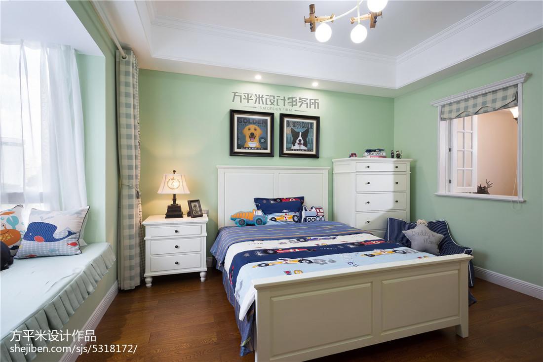 明亮49平美式复式儿童房效果图片大全