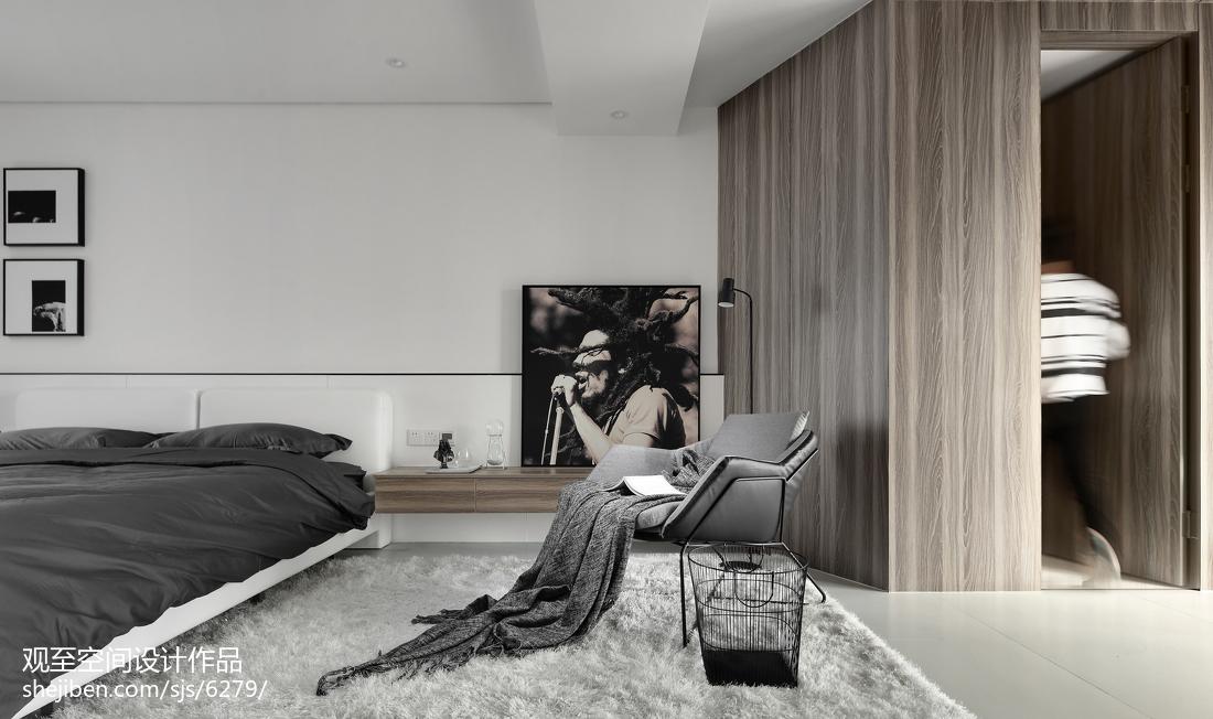 精美复式卧室现代装修效果图片欣赏