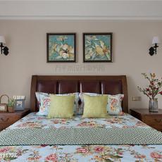 质朴159平美式四居卧室装修效果图