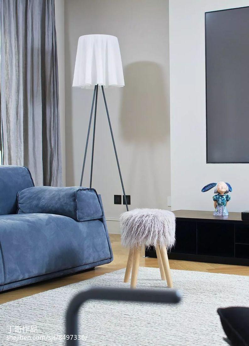 精选面积114平别墅客厅现代装饰图片欣赏