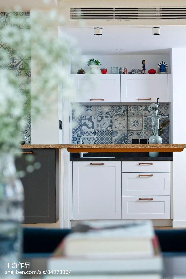 精美面积120平别墅厨房现代装修设计效果图片大全