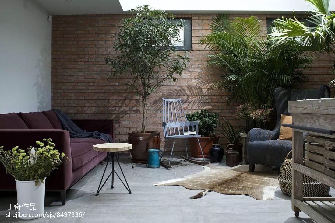 热门122平米现代别墅休闲区效果图片