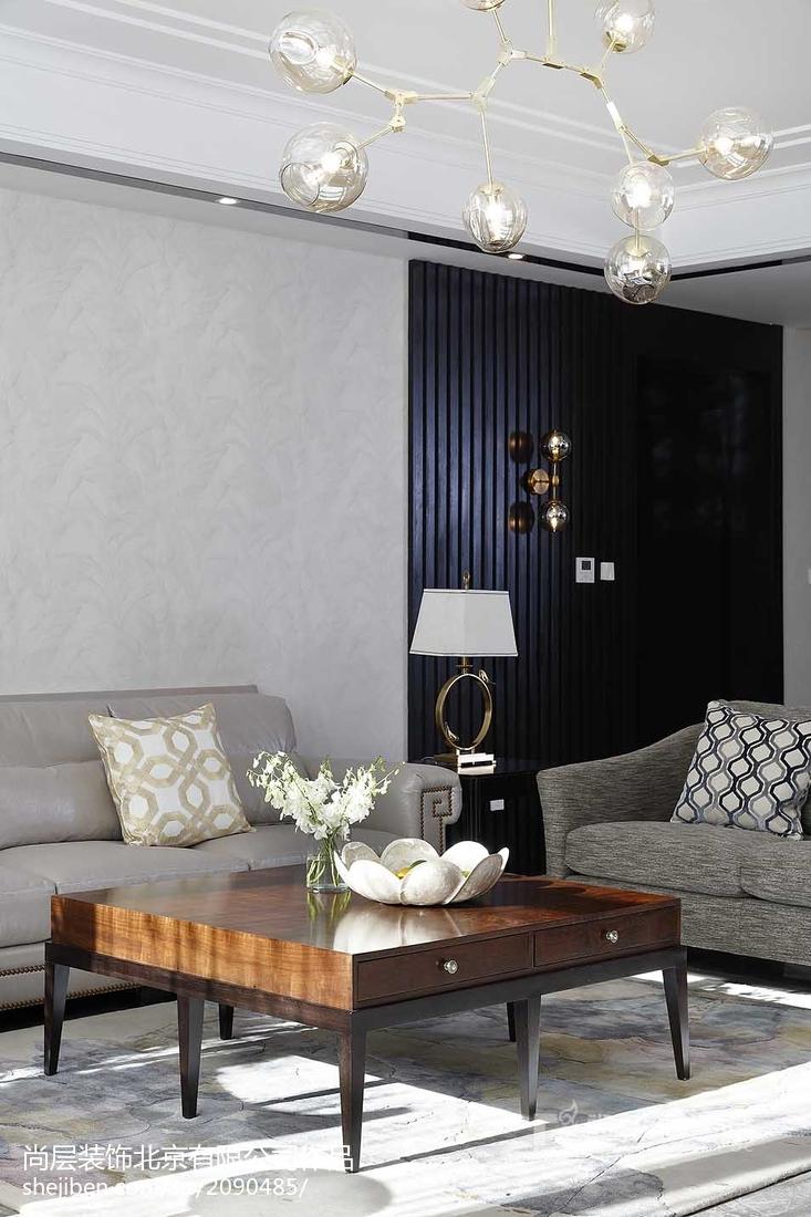 热门141平米美式别墅客厅实景图片欣赏
