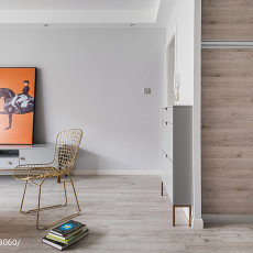 热门76平米二居客厅现代装修实景图片欣赏