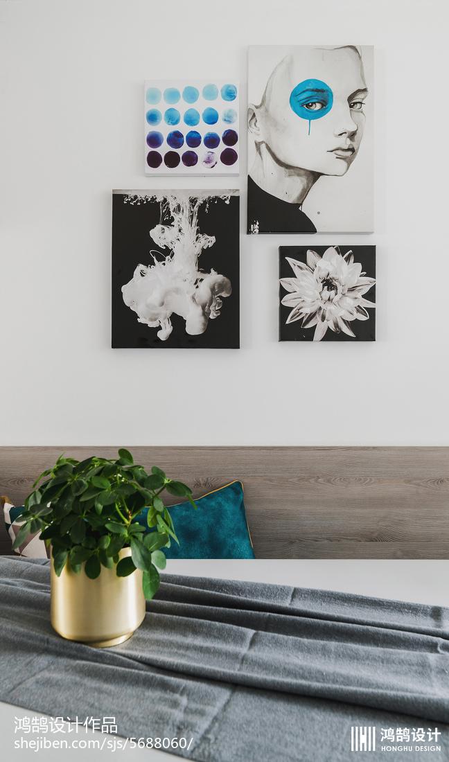 热门85平米二居餐厅现代装修设计效果图片欣赏