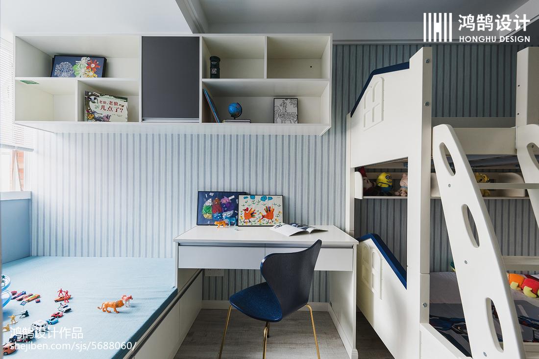 90平现代儿童房设计图