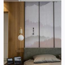 热门四居卧室现代装修设计效果图片