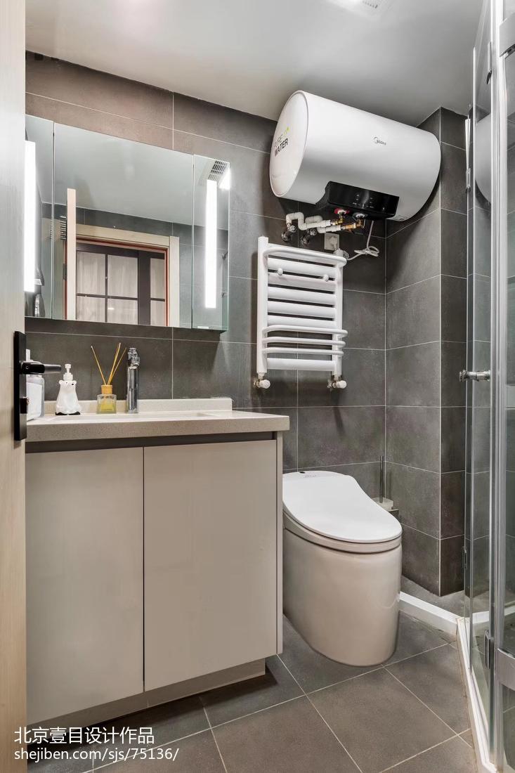 热门北欧小户型卫生间装修设计效果图片大全