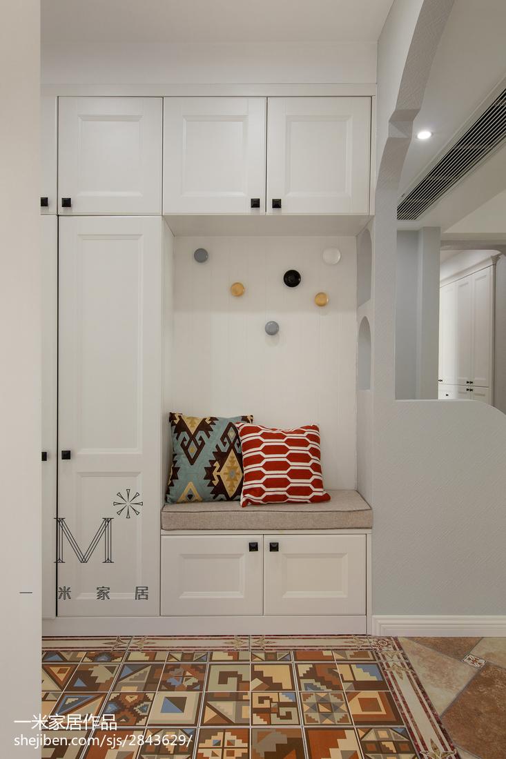 悠雅76平美式二居休闲区设计美图