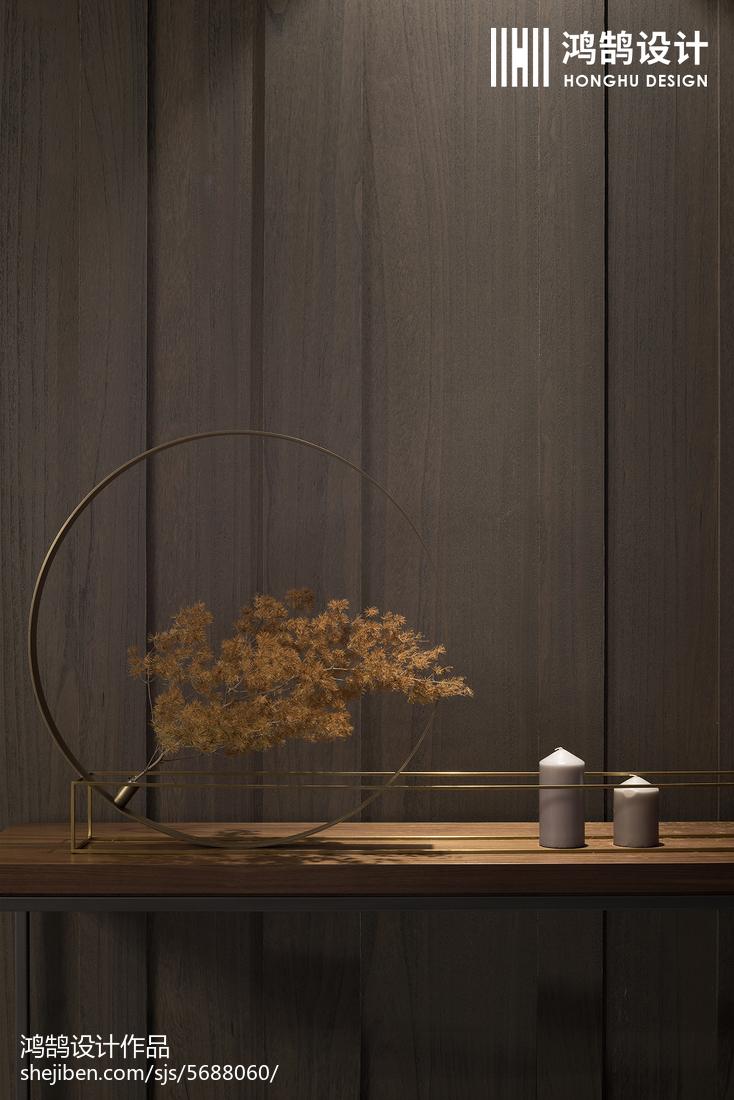 优美129平现代三居客厅装饰美图