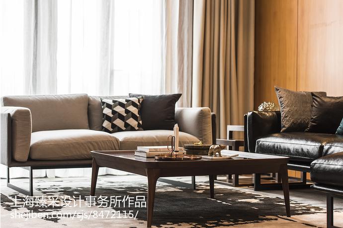 时尚北欧风格家装客厅设计