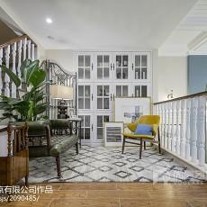 精美123平米美式别墅书房装修欣赏图片