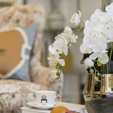 面积124平别墅客厅美式装修效果图片欣赏