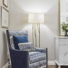 2018精选面积144平别墅卧室美式装修设计效果图片