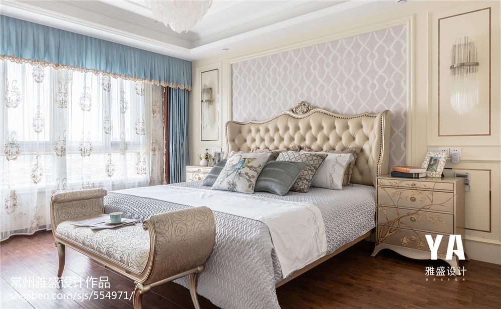 2018三居卧室装修实景图片