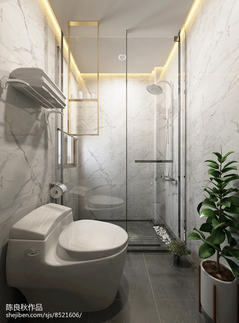 熱門中式復式衛生間效果圖片大全