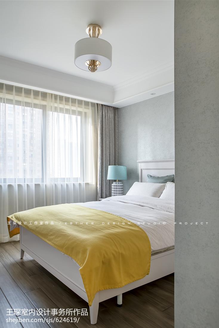 精选四居卧室美式装修设计效果图片大全
