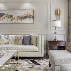 精选美式四居客厅实景图片