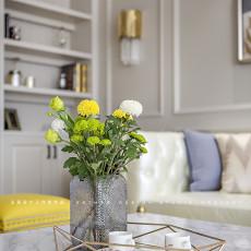 精选美式四居客厅装修实景图