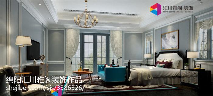 精选美式别墅卧室装修图片