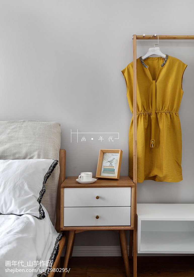 热门二居卧室宜家装修效果图片