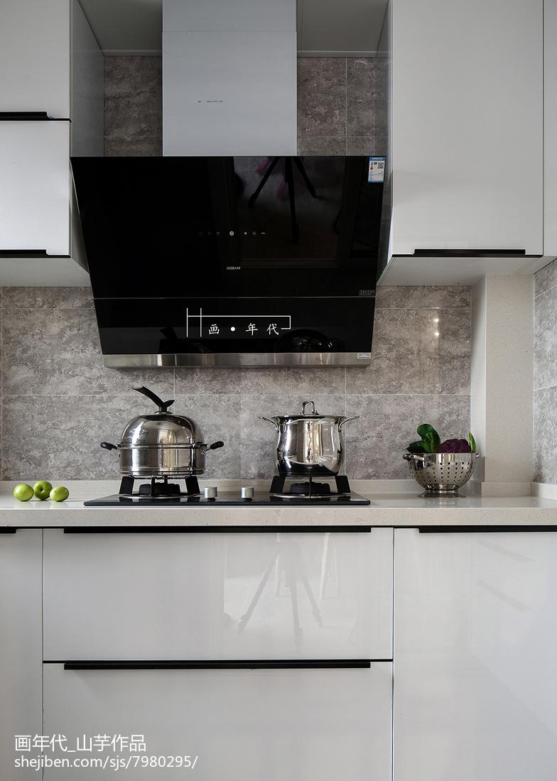 精選84平米二居廚房宜家裝修設計效果圖