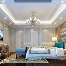 2018精选140平米欧式复式卧室效果图片大全