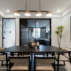 2018精选89平米二居餐厅现代装饰图片欣赏