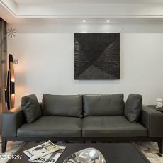 73平米二居客厅现代装修设计效果图片