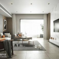 精选117平米四居客厅现代装修图片大全