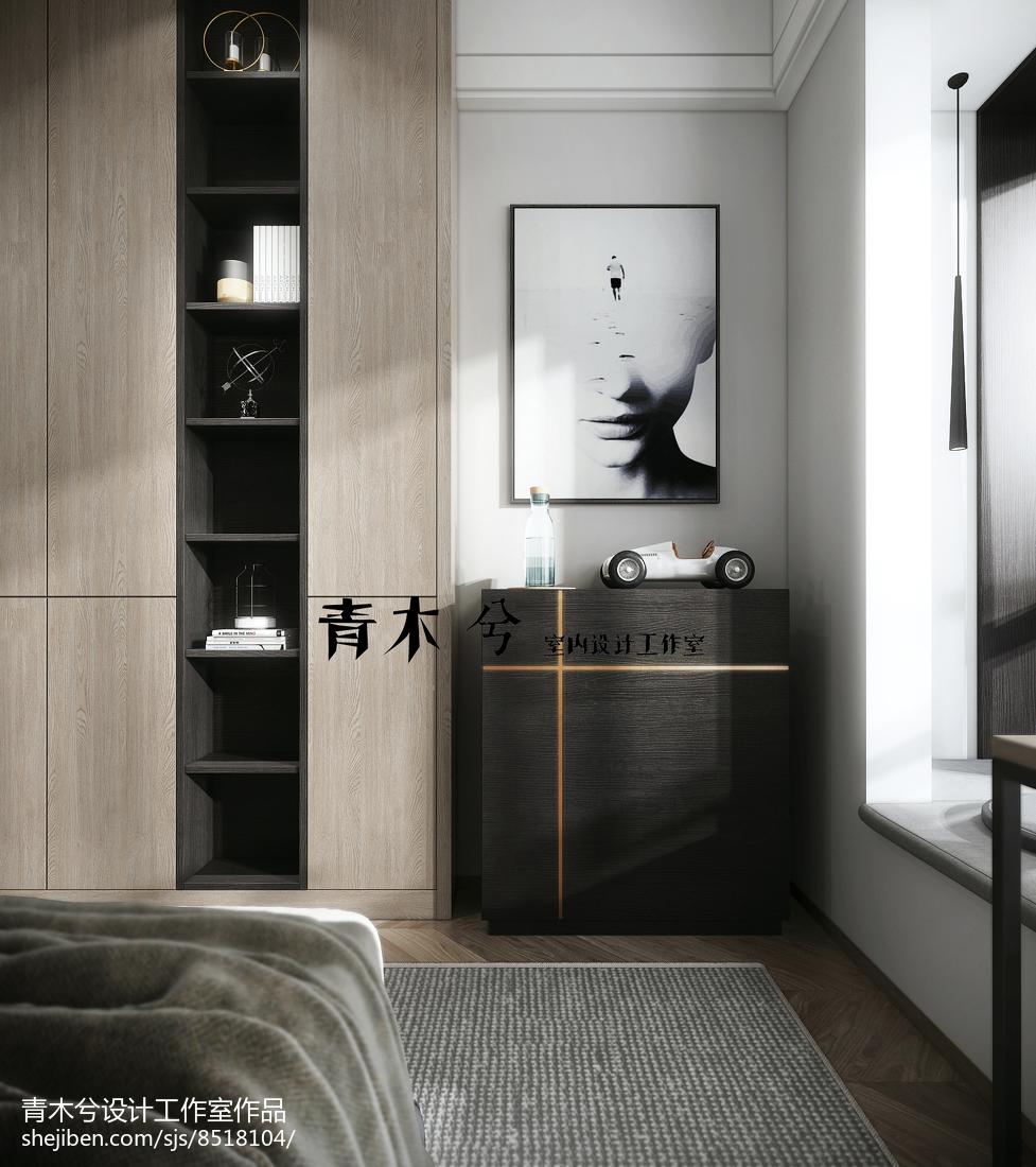 现代风格装修卧室图片