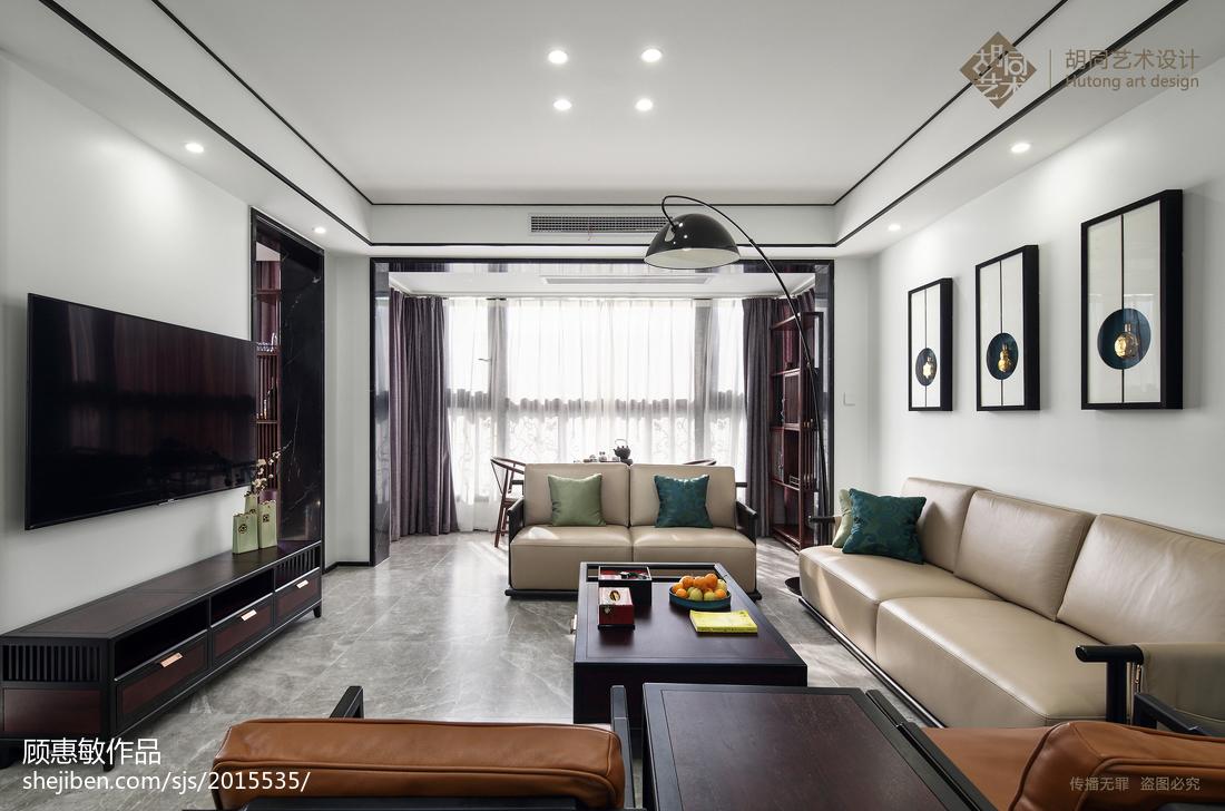 精选大小91平中式三居客厅装修效果图片大全