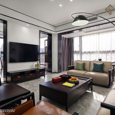 精选大小105平中式三居客厅实景图片欣赏